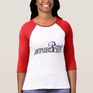 T-shirt Républicain fier
