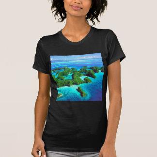 T-shirt République tropicale Palaos d'île