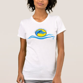 T-shirt Requin bleu
