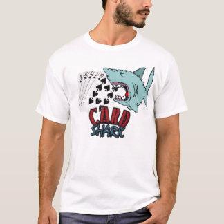 T-shirt Requin de carte
