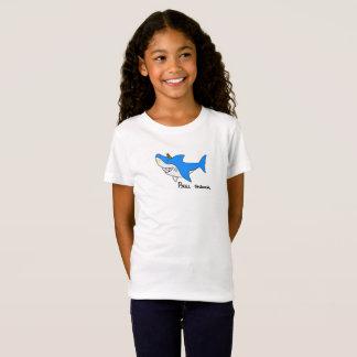 T-Shirt Requin de taureau comique pour le kidz