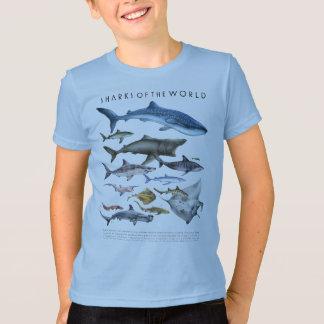 T-shirt Requins du monde unisexe