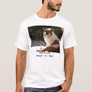 T-shirt Réseau anglais de délivrance de bouledogue -
