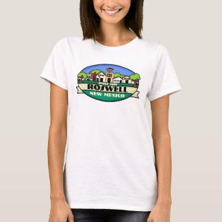 T-shirt Réservoir de dames de petite ville de Roswell