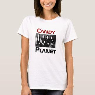 T-shirt Réservoir de planète de sucrerie