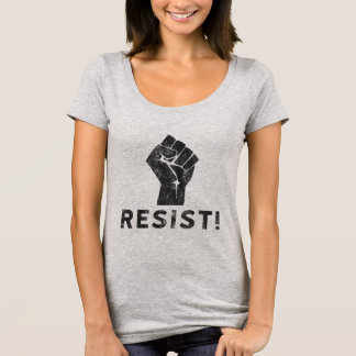 T-shirt Résistez au poing