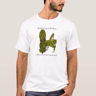 T-shirt Respectez votre chemise de Cthulhu d'aînés