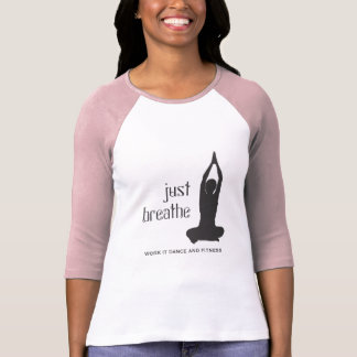 T-shirt Respirez juste le yoga