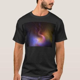 T-shirt résumé psychédélique