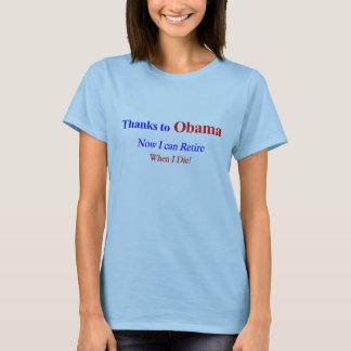 T-shirt Retirez à la pièce en t des femmes de la mort
