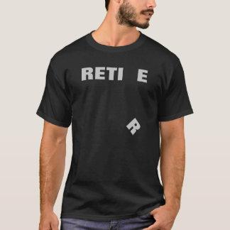 T-shirt Retirez avec R en baisse