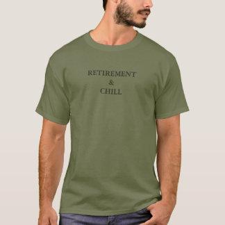 T-shirt Retirez et refroidissez