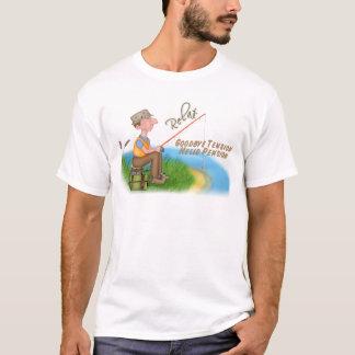 T-shirt Retraite de pêche allée