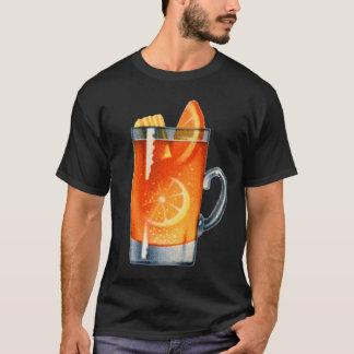 T-shirt Rétro boisson de poinçon de whiskey de cocktail de