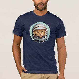 T-shirt Rétro chat de l'espace