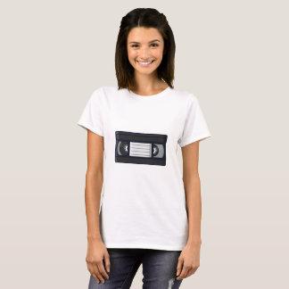 T-shirt Rétro - chemise de femme de bande de VHS