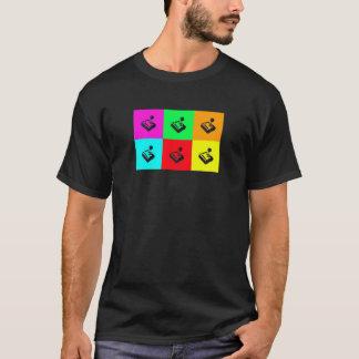T-shirt Rétro chemise de Gamer de popart