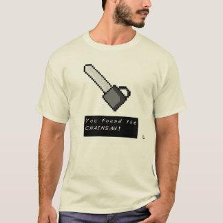 T-shirt Rétro chemise de tronçonneuse de Gamer