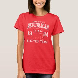T-shirt Rétro équipe républicaine 1984 d'élection