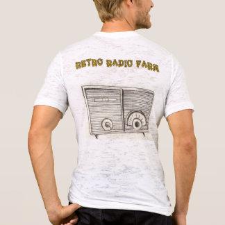 T-shirt Rétro ferme par radio
