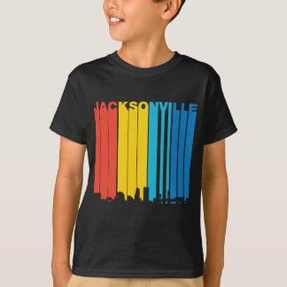 T-shirt Rétro horizon de Jacksonville la Floride