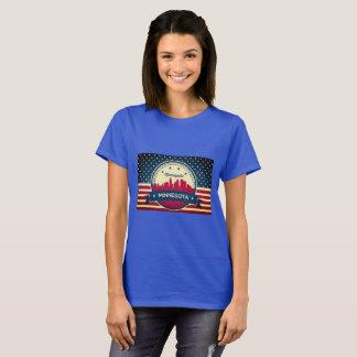 T-shirt Rétro horizon de Minneapolis