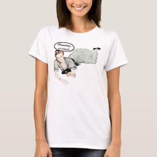 T-shirt Rétro humour de femme