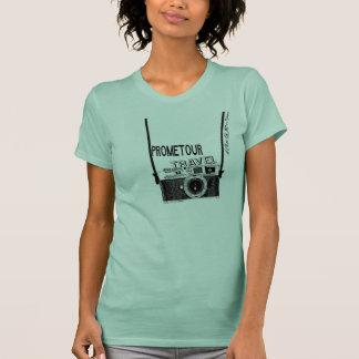 T-shirt Rétro journaliste 2015 de voyage