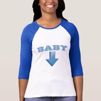 T-shirt Rétro pièce en t de maternité