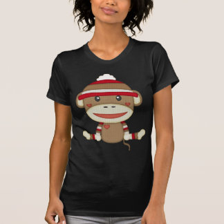 T-shirt Rétro singe de chaussette