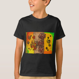 T-shirt Rétros cadeaux vintages de style de l'Afrique