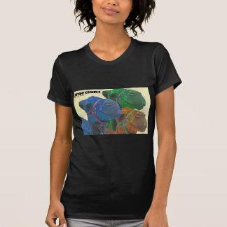 T-shirt rétros chameaux