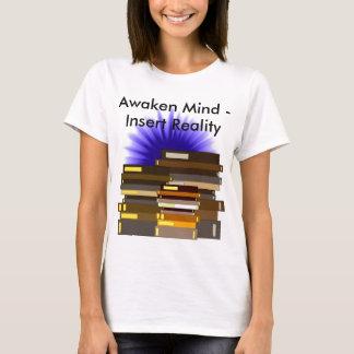 T-shirt Réveillez l'enseignement de TIGE d'éducation de la