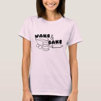 T-shirt Réveillez-vous et faites cuire au four