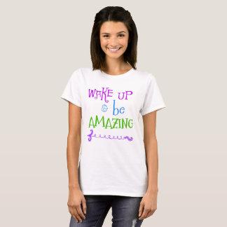 T-shirt Réveillez-vous stupéfie la flèche