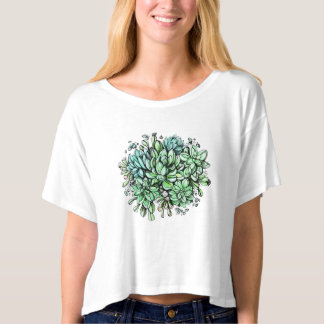 T-shirt Rêves succulents