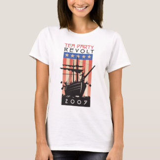 T-shirt Révolte 2009 de thé