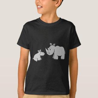 T-shirt Rhinocéros