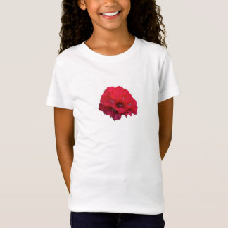 T-Shirt Rhododendron rouge