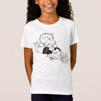 T-Shirt Riches de Richie étudiant - B&W