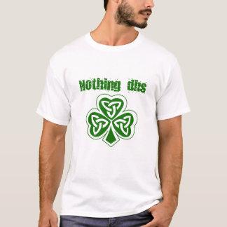 T-shirt Rien chemise de Jour de la Saint Patrick de CSAD