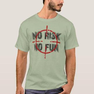 T-shirt risque et amusement