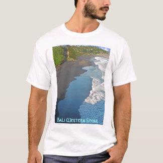 T-shirt Rivage occidental de Bali