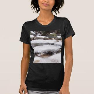 T-shirt Rivière congelée au parc national de séquoia de