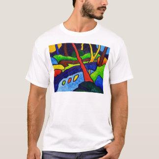 T-shirt Rivière en parc