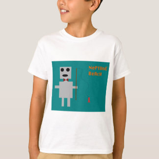 T-shirt Robot 3 de plage de Neptune