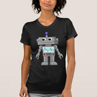 T-shirt robot de bande dessinée