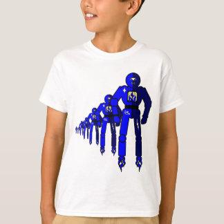 T-shirt Robots de Fibonacci