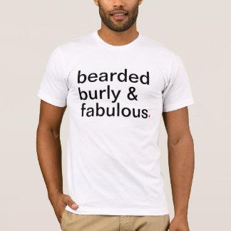T-shirt robuste et fabuleux barbus. - Ayez une grande vie