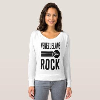T-shirt roche de filles de Vénézuéliens